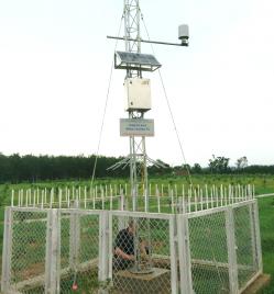 Trạm đo mưa tự động